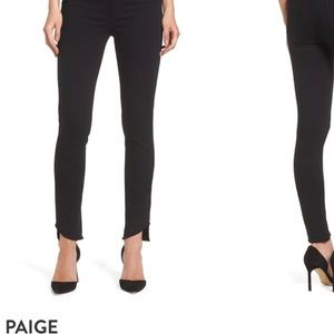 PAIGE Hoxton Ankle High Rise Jeans